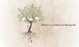 PREZI 11: Ethics in Research; Feedback, Overview of module a