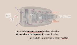 Desarrollo Organizacional de las Unidades Generadoras de Ing