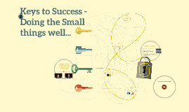 Positive Attitude, Positive Results: Doing the small things