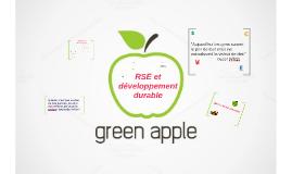 """green apple """"RSE"""" sabrina Az"""