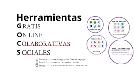 Herramientas GOCS by @anabelgaitan @pbongiovanni