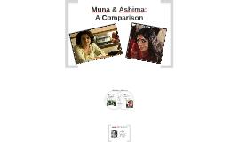 Comparing Muna & Ashima