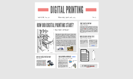 printing project thing
