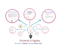 Electricity and Algebra