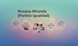 Roxana Miranda Meneses
