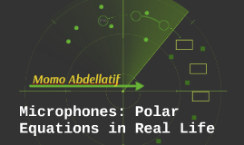 Microphones: Polar Equations in Real Life