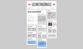 Las multinaciones y sus estrategias