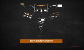 Teoría del productor