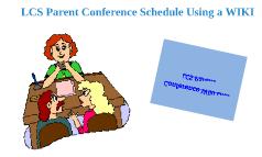 Parent Conference WIKI presentation