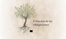 Extinción de las