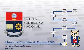 Informe de Rendición de Cuentas - 2017