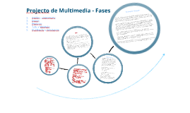 Copy of Projecto de Multimédia - Fases