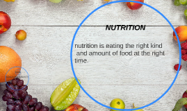 an analysis of the importance of proper nutrition Proper nutrition can be defined as one which is rich in adequate quantity of the following constituents however, the need for these constituents can vary in different individuals depending the importance of nutrition is evident from the fact that if nutrition is not proper it can ruin health and cause diseases.