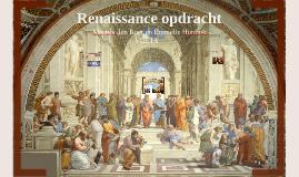 Renaissance opdracht