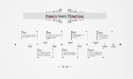 Hans's Story TimeLine