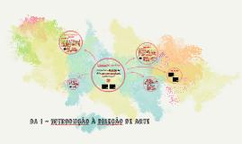 TCDA 1 - Conceito da direção de arte