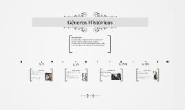 GÉNEROS HISTORICOS