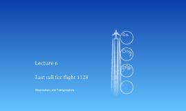 2015 Lect 6: 1128 Final Prep