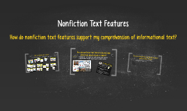 Copy of Nonfiction Text Features