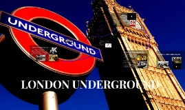 Copy of LONDON UNDERGROUND