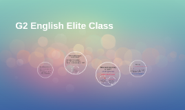 G2 English Elite Class