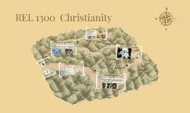 REL 1300  Christianity