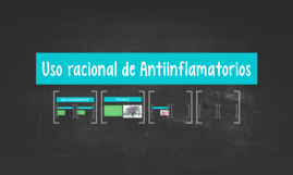 Uso racional de Antiinflamatorios