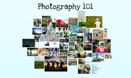 (Original) Photography 101