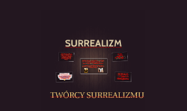 Copy of SURREALIZM