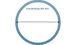 Copy of Linea del tiempo de Colombia  años 1974-2013