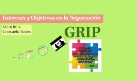 Intereses y objetivos en la Negociación