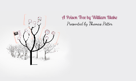 Copy of A Poison Tree by William Blake