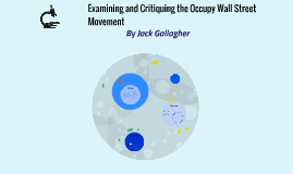Examining and Critiquing the Occupy Wall Street Movement