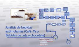 Análisis de bebidas estimulantes (cafe, te, bebidas de cola y chocolate)