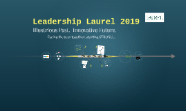 Leadership Laurel January 2019