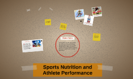 Sports Nutrition and Athlete Performance