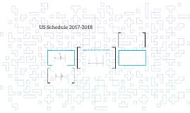 US Schedule 2017-2018