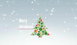 Copy of Merry christmas - Free Prezi template