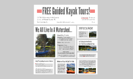 FREE Guided Kayak Tours