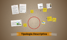 Copy of Tipología Descriptiva