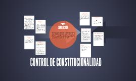 Copia de CONTROL DE CONSTITUIONALIDAD