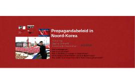 PWS-presentatie propagandabeleid Noord-Korea