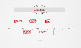 Calendarul