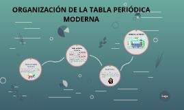 Organizacin de la tabla periodica moderna by elder antonio calle organizacin de la tabla periodica moderna by elder antonio calle otero on prezi urtaz Images