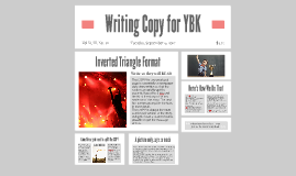 Writing Copy for YBK