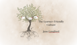 The Learner-Friendly Culture