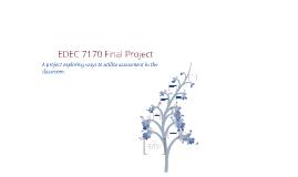 EDEC 7170 Final Project