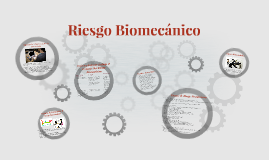 Copy of Riesgo Biomecánico & Mecánico