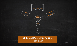 mcdonalds and its critics 1973 2009 Ct app 2009) according to the appellate court: the caller was successful in accomplishing his perverse hoax more than thirty times at different mcdonald's restaurants  id at 281 in 1973, the quarter pounder was introduced the targeting of information, thereby silencing its critics and preventing their different.