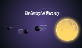 The Concept of Discovery